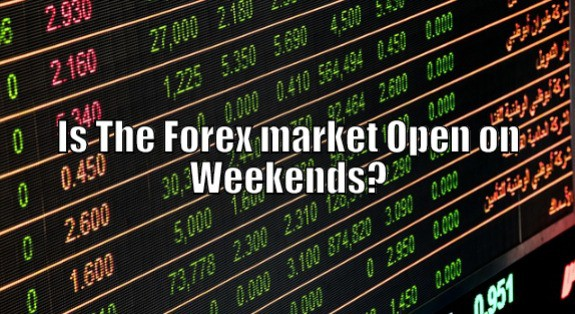 Is forex closed on weekends
